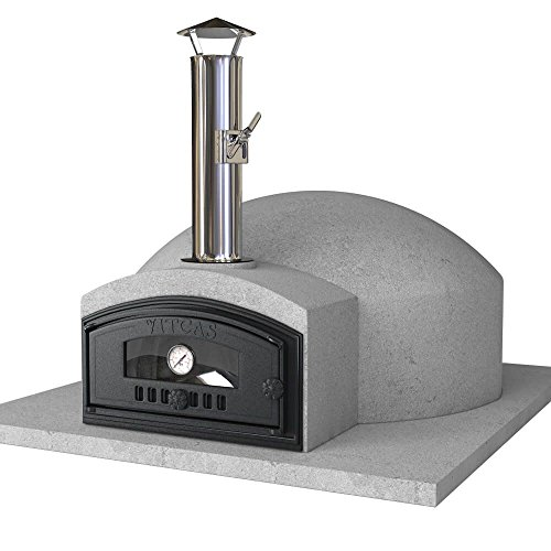 VITCAS DIY Wood Fired Pizza Oven Kit – Build Your Own Pompeii 80 Outdoor Oven