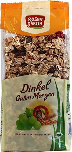 Rosengarten Bio Dinkel-Guten-Morgen Müsli (2 x 500 gr)