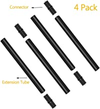 """Bebrant Extension and Joint Kits 4-Pack Solar Flame Torches, 12"""" Extension Makes Solar Torches Taller"""