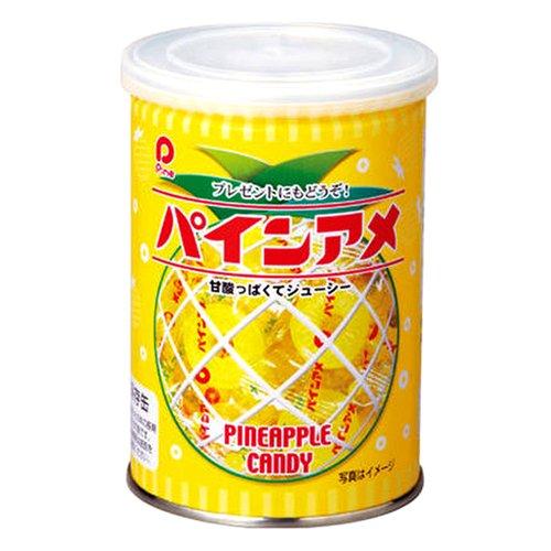 『パイン パインアメ缶 90g 重量:90g』のトップ画像