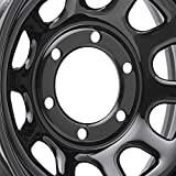 Pro Comp Steel Wheels Series 51 Wheel with Gloss Black Finish (15x10'/6x5.5')