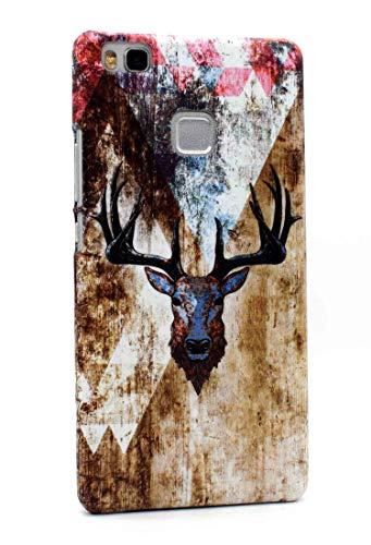 Mrwildstudio Funda para Huawei P9 Lite, diseño de ciervo
