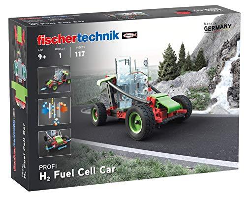 fischertechnik 559880 Profi H2 Fuel Cell Car-Brennstoffzellenfahrzeug – der Bausatz zum Thema Brennstoffzelle für Kinder ab 9 Jahren