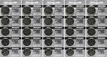 25 Energizer 2032 Battery CR2032 Lithium 3v  5 Packs of 5