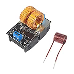 ZVS heating power supply module includes the heating coil. Input voltage DC5V-12V. Maximum power 120W.(when 12V eddy-current heating) Ensure all the components welding right, power line connect in the right way. The width of the heated object is as f...