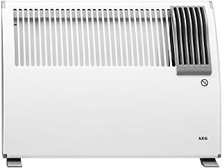 AEG 222147 - Radiador por convección, 1000/2000 W, 230 V, color blanco
