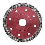 Diamante sottile lama sega disco di taglio 115mm rosso per smerigliatrice angolare taglio porcellana piastrelle granito marmo ceramica pietra mattone