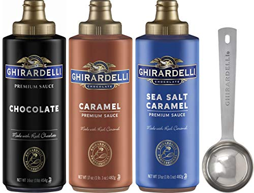 Ghirardelli - Sea Salt Caramel, Chocolate and...