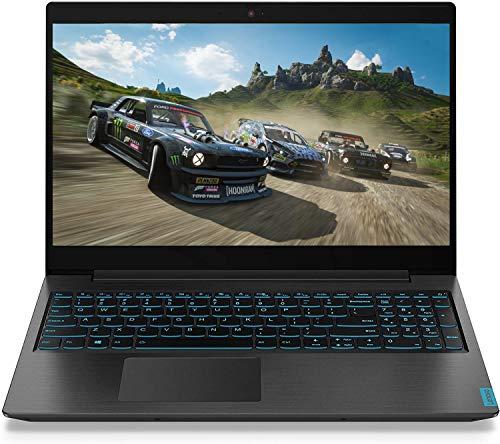 Premium Lenovo Ideapad L340 15.6 inch FHD 1920x1080 IPS Anti-Glare Gaming Laptop Intel i7-9750H up to 4.5GHz Nvidia GeForce GTX 1050 3G GPU 8G RAM 256G PCIe SSD Type-C HDMI Webcam Bluetooth 4.2 Black
