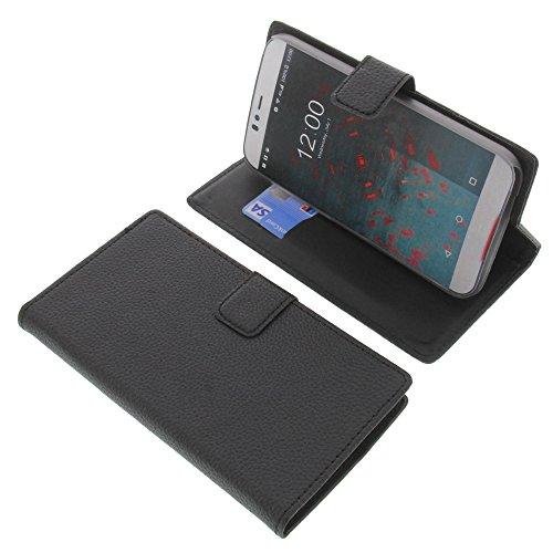 foto-kontor Tasche für UMI Iron Pro Book Style schwarz Kreditkarte Schutz Hülle Buch