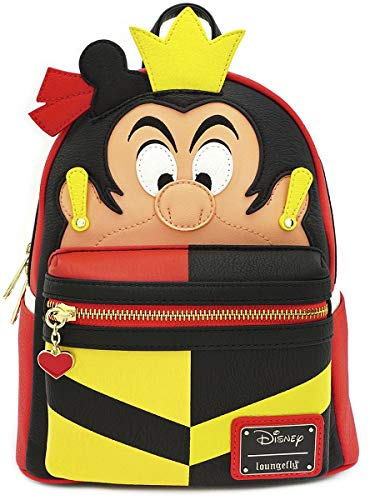 Official Disney Alice In Wonderland Queen of Hearts Mini Backpack