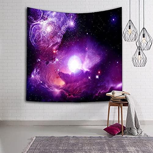 CGLDYE Splendid Aurora Sky Stars Mandala Tapicería Toalla Toalla Mesa Hippie Manta Big Bang Nebula Paisaje Decoración Yoga Mat 95x73cm 38x29inch(Color:Nebula 29)