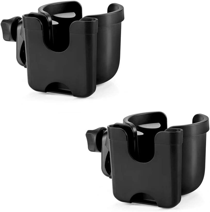 Accmor Stroller Cup Holder with Directly managed store Fees free Universa Phone Organizer