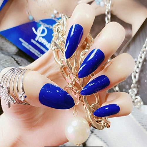 Manicure Products Lot de 24 faux ongles à pointe longue pour ongles européens et américains