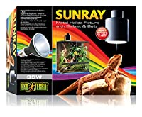 Metal halide fixture with ballast and bulb Easy to install and fully adjustable Optimal levels of visible light, heat and uva and uvb Closely approximates natural sunlight Contributes to the animal's overall wellbeing