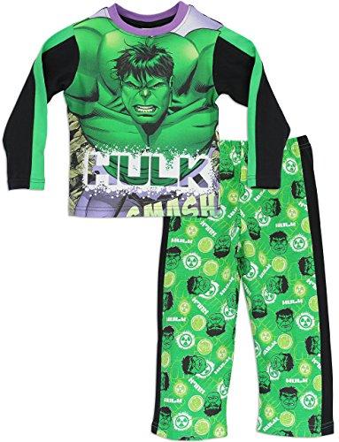 Hulk - Pijama para Niños - Marvel - 3-4 Años
