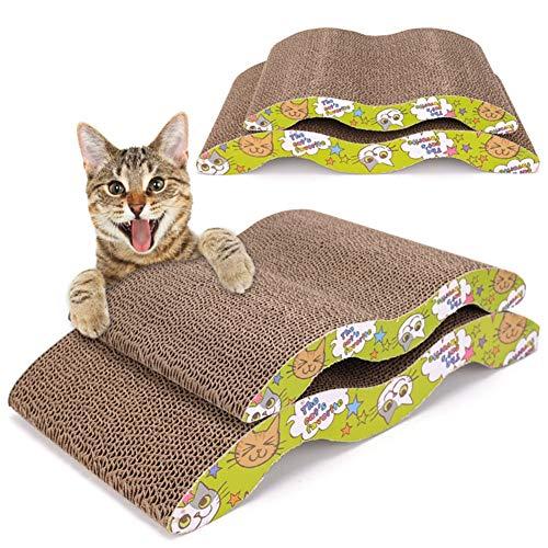 Aida Bz Pet Cat Scratch Board Carton ondulé Feuille de Papier ondulé Cat Scratch Board M Arch Bridge Type S canapé Type Cat Griffe Conseil,B,S