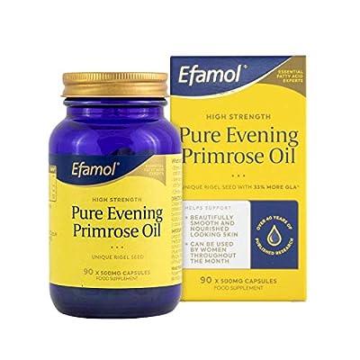 Efamol High Strength Pure Evening Primrose Oil 500mg - 90 Capsules