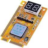 2-Digit Mini PCI PCI-E LPC PC Laptop Analyzer Tester Computer Motherboard Analyzer Tester Diagnostic Post Test Card Debug Checker