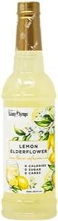 Jordans Skinny Syrups Sugar Free Lemon Elderflower Syrup Healthy Flavors with 0 Calories, 0 Sugar, 0 Carbs 750ml/25.4oz Bottle