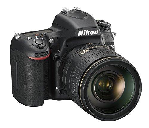 Nikon D750 + AF-S NIKKOR 24-120mm Juego de cámara SLR 24,3 MP CMOS 6016 x 4016 Pixeles Negro - Cámara Digital (24,3 MP, 6016 x 4016 Pixeles, CMOS, 5X, Full HD, Negro)
