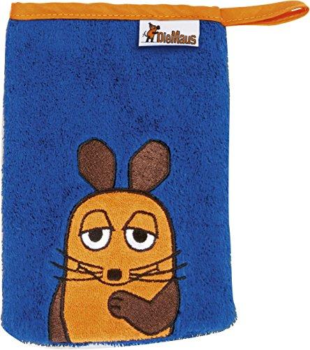 Playshoes DIE MAUS 340090_1 Frottee Waschhandschuh, Größe 15 x 20 cm