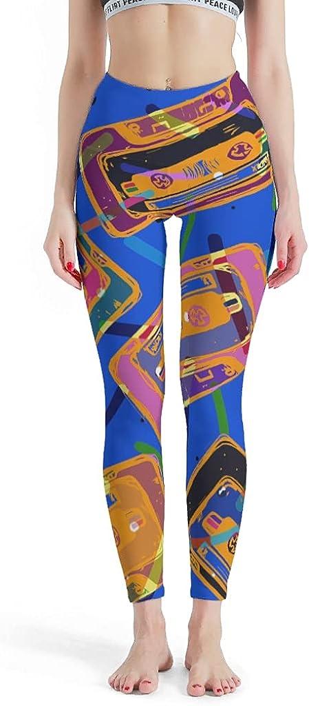 CHAKBYO Women Life Music Stretchy Leggings Long Pant Sale Sale price special price Yoga Enough