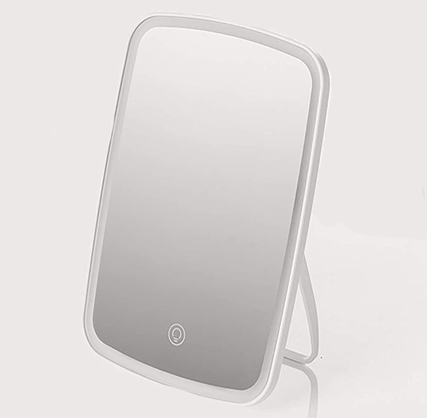 筋エンコミウム対応するJORDAN&JUDY 化粧鏡 led化粧鏡 USB充電 ホワイト [並行輸入品]