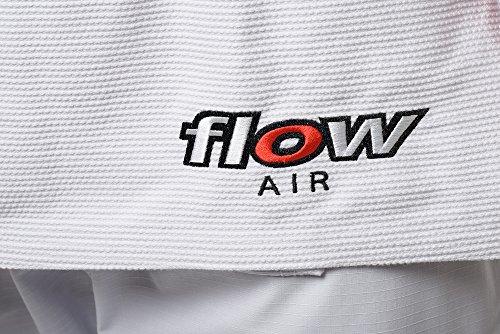 Flow Kimonos Air BJJ Jiu Jitsu Gi (White, A2)