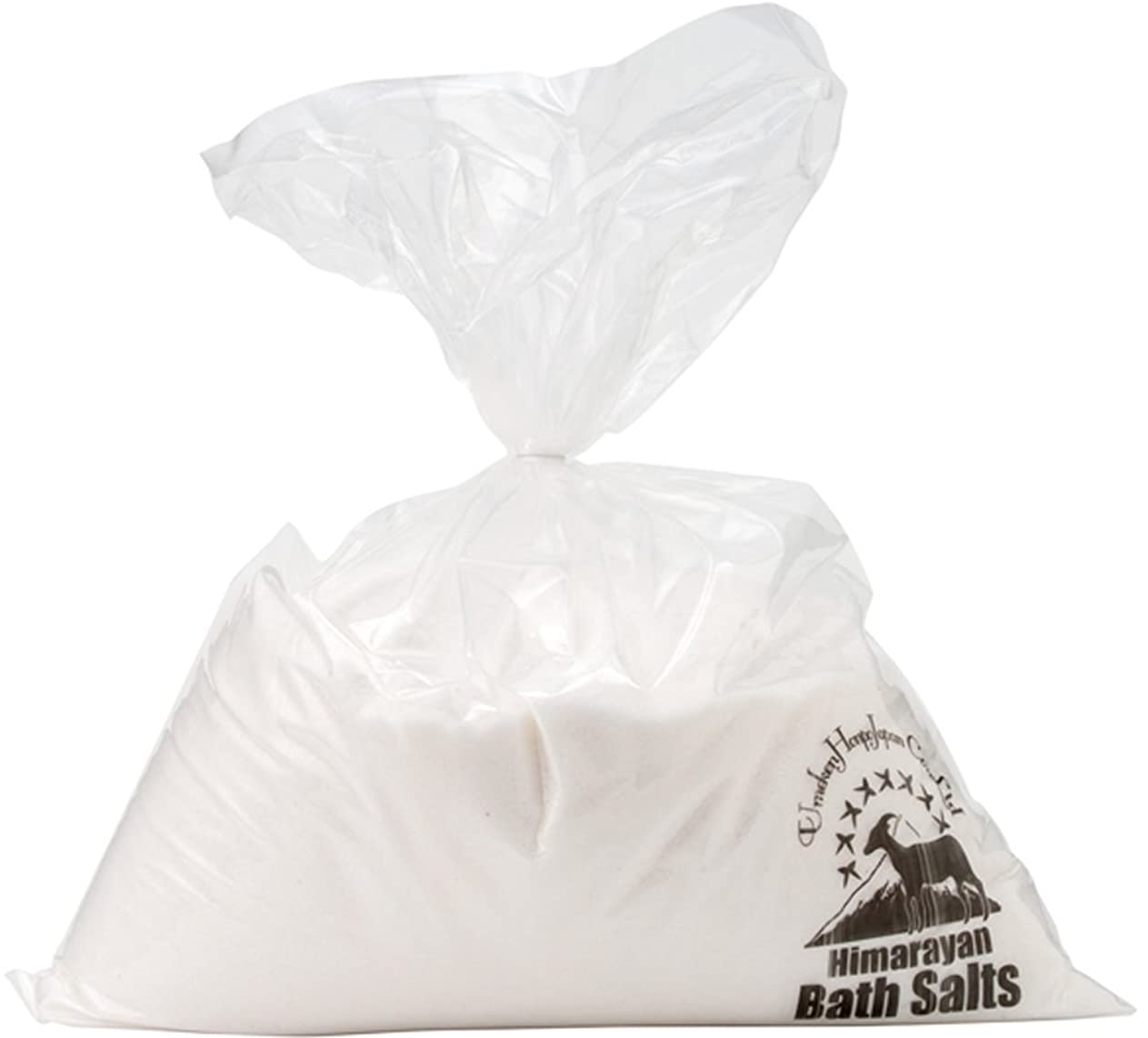 どっちでもアンソロジー不安定なヒマラヤ岩塩 バスソルト ホワイト あら塩 10kg