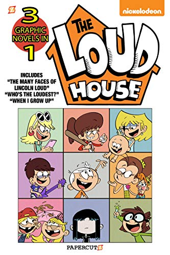 The Loud House 3-in-1 #4: The Many Faces of Lincoln Loud,...