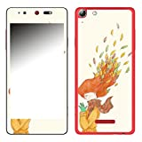 Disagu SF-106693_1199 Design Folie für Wiko Selfy 4G - Motiv Herbstwind 01