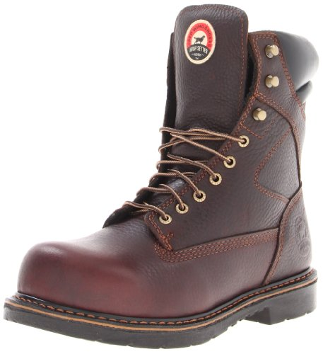 Irish Setter Men's 83824 8' Steel Toe Work Boot,Brown,12 D US