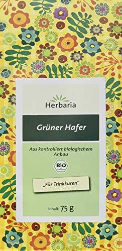 Herbaria Grüner Hafer (1 x 75 g Tüte) - Bio