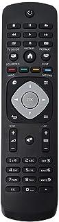Universele Smart TV-afstandsbediening vervangen voor Philips LCD LED Smart TV, 8M afstand, zwart