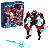 LEGO 76171 Spider-Man Miles Morales Mech Armour Set, Action Figure Toy for 7+ Boys and Girls, Marvel Super Heroes Playset