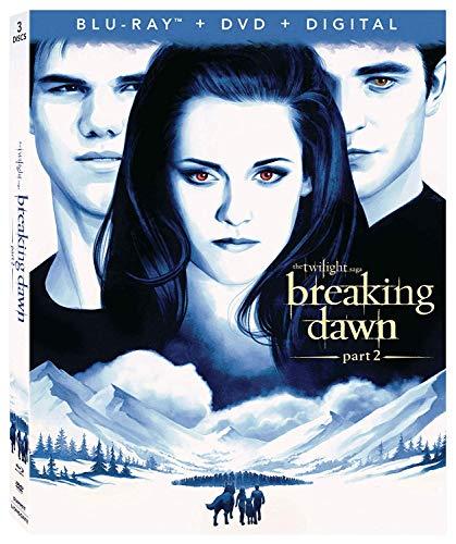 THE TWILIGHT SAGA: BREAKING DAWN PT2 3-Disc Combo Pack [Blu-ray]