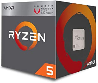 AMD Ryzen 5 3400G Processor (4C/8T, 6MB cache, 4.2GHz Max Boost) with Radeon™ RX Vega 11 Graphics