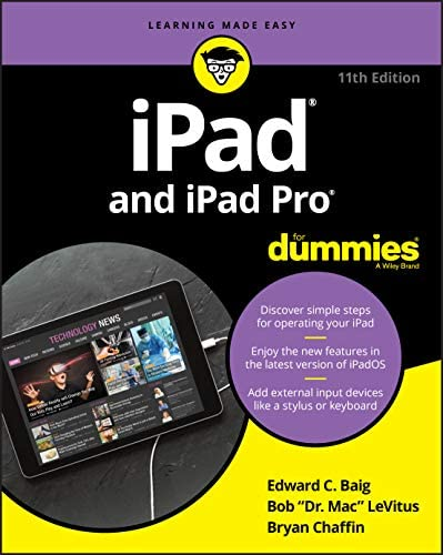 iPad and iPad Pro For Dummies product image