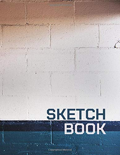 Sketchbook: Brick and block wall art Journal & Notebook for Drawing, Writing, Painting, Sketching or Doodling, 110 Blank Pages, White paper, 8.5x11 inch (BBW No.6) (Brick and block wall (BBW))