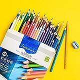 siyu 24/36/48 / 72colors Lápiz de Color al óleo Set Artist Drawing Color Pencil Crayon De Couleur Colores para Pintar Rainbow Coloring, 48 Colores