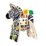 Manhattan Toy Safari Zebra Wooden Toddler...