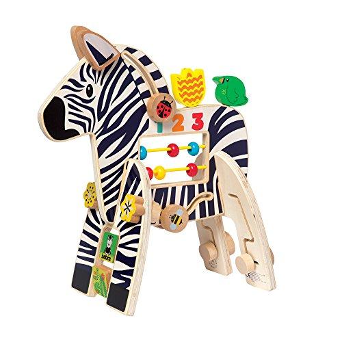 Manhattan jouet en bois Jouet d'éveil, Zebra
