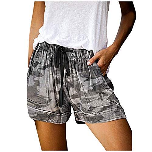 Dasongff Dames zomerbroek korte camouflage broek Locker High Waist Shorts met slangenpatroon Leoparden Party Clubwear Casual Hotpants Chic Bermuda Ultra Bamode Shorts vrijetijdsshorts
