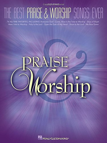 The Best Praise and Worship Songs Ever (Easy Piano)