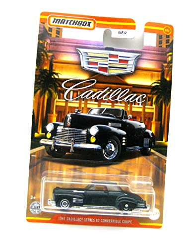 Matchbox 1941 Cadillac Series 62 Convertible Coupe schwarz 1:64