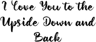 I Love You to the Upside Down and Back: A Stranger Things Journal Cream Paged Lined (6x9) - Perfect As A Notebook, Journal...