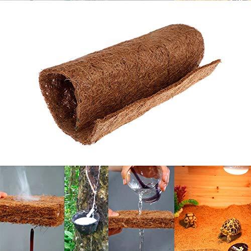 Natürliche Kokosfaser-Matte, natürlicher Reptilien-Teppich, Terrarium-Futter für Eidechse, Chamelon, Schildkröte, Schlange, Bartdrachen