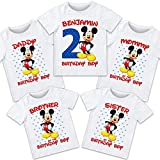 Mickey Mouse birthday shirt, Mickey Mouse...