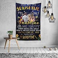タペストリー You Are My Sunshine Tapestryおしゃれ インテリア 多機能壁掛け ファブリック装飾用品 北欧風 壁掛け壁画 個性ギフト 新居祝い150x100cm